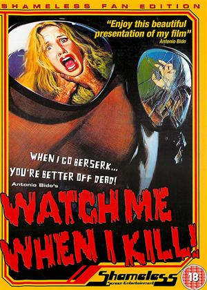 Watch Me When I Kill! Online DVD Rental