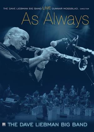 The Dave Liebman Big Band: Live as Always Online DVD Rental