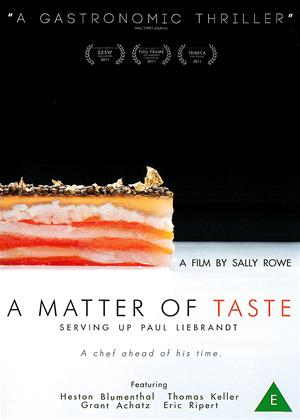 Rent A Matter of Taste: Serving Up Paul Liebrandt Online DVD Rental