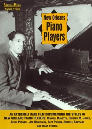 New Orleans Piano Players Online DVD Rental