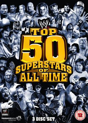 Rent WWE: Top 50 Superstars of All Time Online DVD Rental