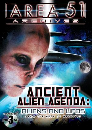 Ancient Alien Agenda: Aliens and UFOs from the Area 51 Archives Online DVD Rental