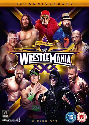 WWE: WrestleMania 30 Online DVD Rental