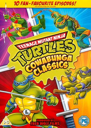Rent Teenage Mutant Ninja Turtles: Cowabunga Classics Online DVD Rental