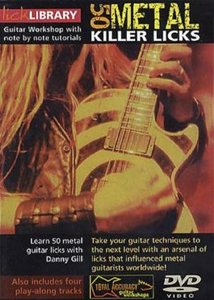 Rent 50 Killer Metal Licks Online DVD Rental