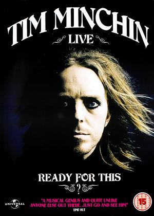 Tim Minchin: Ready for This? Live Online DVD Rental
