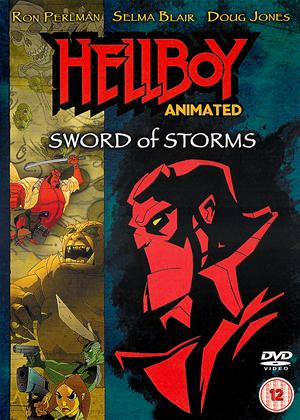 Hellboy: Animated: Sword of Storms Online DVD Rental