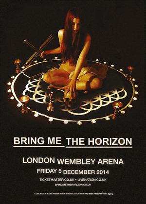 Bring Me the Horizon: Live at Wembley Arena Online DVD Rental