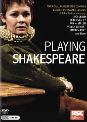 Playing Shakespeare Online DVD Rental
