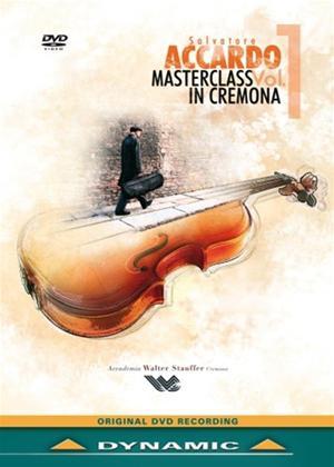 Rent Salvatore Accardo: Masterclass in Cremona: Vol.1 Online DVD Rental