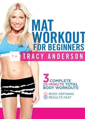 Tracy Anderson: Mat Workout for Beginners Online DVD Rental