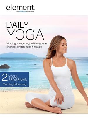 Rent Element: Daily Yoga Online DVD Rental