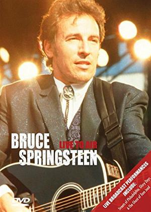 Rent Bruce Springsteen: Live to Air Online DVD Rental