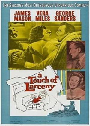 Rent A Touch of Larceny Online DVD Rental