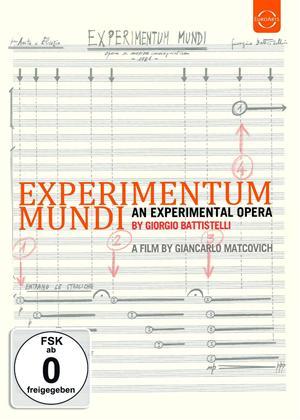 Rent Experimentum Mundi: Auditorium Parco Della Musica (Battistelli) Online DVD Rental