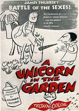 Rent The Unicorn in the Garden Online DVD Rental