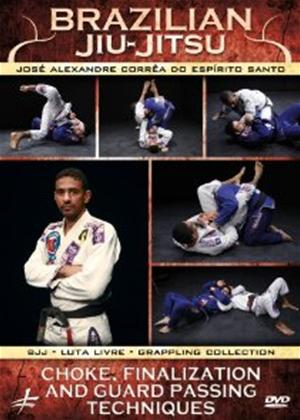 Rent Brazilian Jiu Jitsu: Chokes and Guard Passing Techniques Online DVD Rental