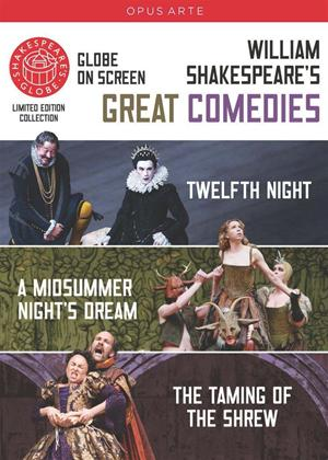 Rent Shakespeare's Globe: Shakespeare's Great Comedies Online DVD Rental