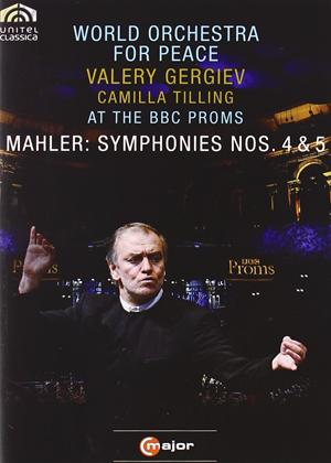 Rent Mahler: Symphonies Nos. 4 and 5 Online DVD Rental