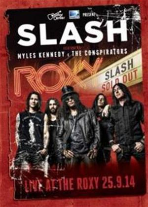 Rent Slash Featuring Myles Kennedy and the Conspirators: Live at the Roxy Online DVD Rental