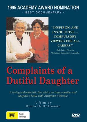 Rent Complaints of a Dutiful Daughter Online DVD Rental