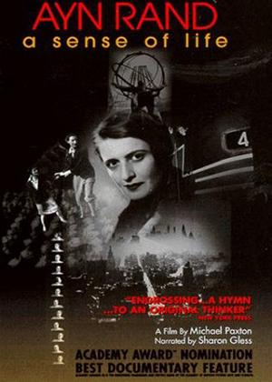 Ayn Rand: A Sense of Life Online DVD Rental