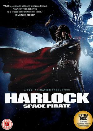 Harlock: Space Pirate Online DVD Rental