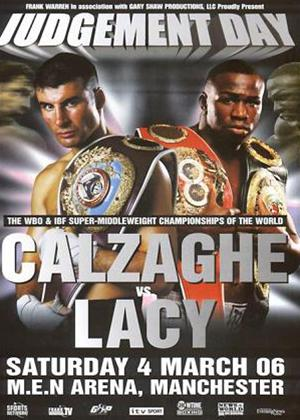 Rent Calzaghe Vs Lacy Online DVD Rental
