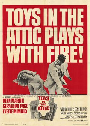 Toys in the Attic Online DVD Rental