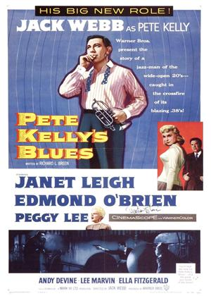 Rent Pete Kelly's Blues Online DVD Rental