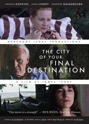 The City of Your Final Destination Online DVD Rental