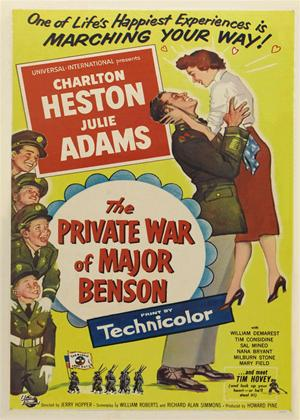 Rent The Private War of Major Benson Online DVD Rental