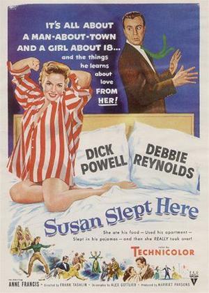 Rent Susan Slept Here Online DVD Rental