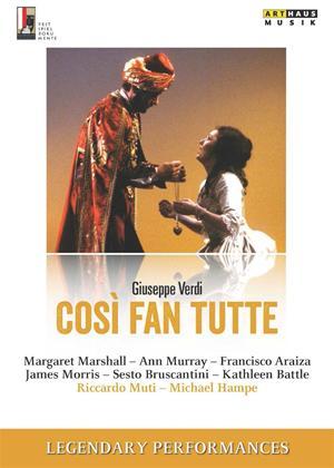 Rent Cosi Fan Tutte: Vienna State Opera (Muti) Online DVD Rental