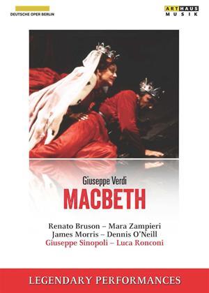 Rent Macbeth: Deutsche Oper Berlin (Sinopoli) Online DVD Rental