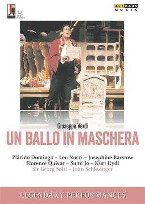 Rent Verdi: Un Ballo in Maschera Online DVD Rental