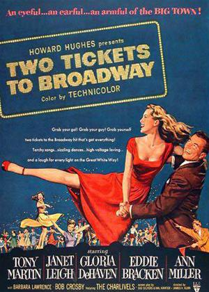 Two Tickets to Broadway Online DVD Rental