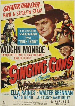 Singing Guns Online DVD Rental