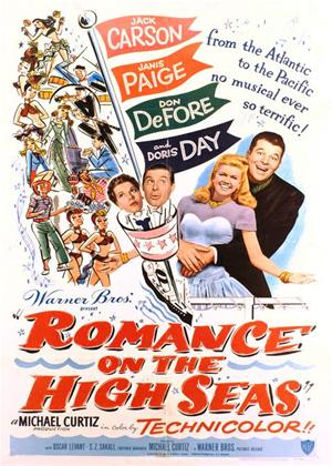Romance on the High Seas Online DVD Rental