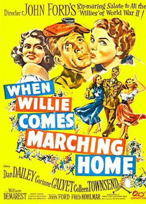 Rent When Willie Comes Marching Home Online DVD Rental