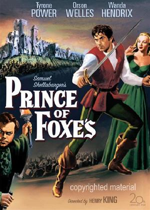 Rent Prince of Foxes Online DVD Rental