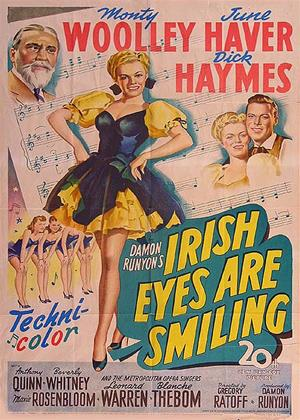 Irish Eyes Are Smiling Online DVD Rental