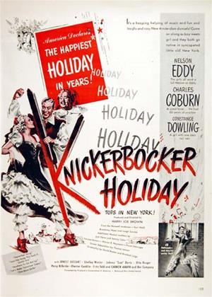 Rent Knickerbocker Holiday Online DVD Rental