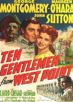 Ten Gentlemen from West Point Online DVD Rental