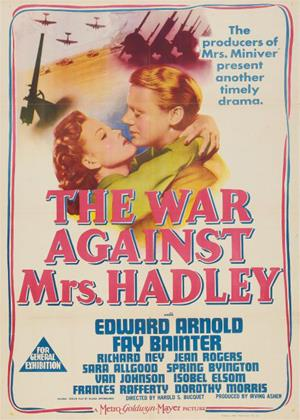 Rent The War against Mrs. Hadley Online DVD Rental