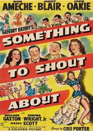Something to Shout About Online DVD Rental