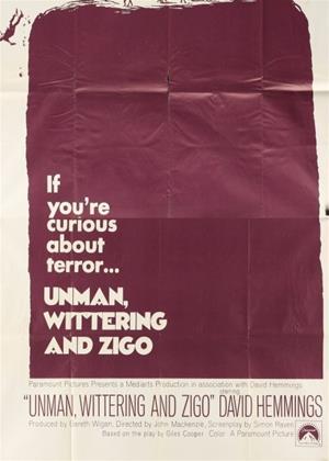 Unman, Wittering and Zigo Online DVD Rental
