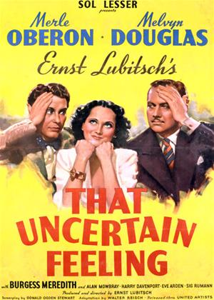 That Uncertain Feeling Online DVD Rental