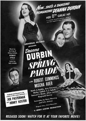 Spring Parade Online DVD Rental