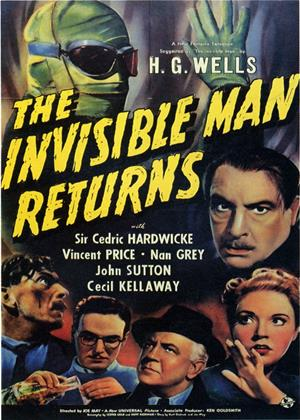 Rent The Invisible Man Returns Online DVD Rental